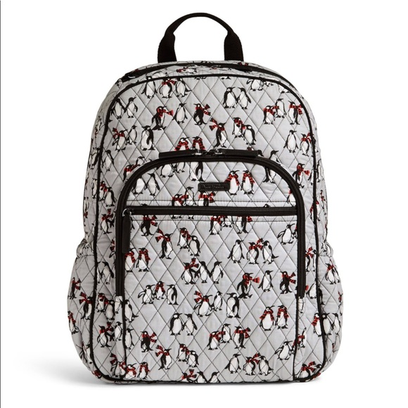 7cce7cd5e998 NWT PLAYFUL PENGUINS Campus tech backpack